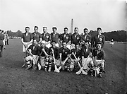 10/10/1956<br /> 10 October 1956<br /> All Army Final: Southern Command v Eastern Command at Phoenix Park, Dublin. Southern Command Team.