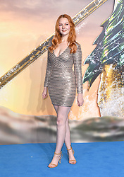 Victoria Clay attending the Aquaman premiere held at Cineworld in Leicester Square, London on November 26, 2018. Photo credit should read: Doug Peters/EMPICS