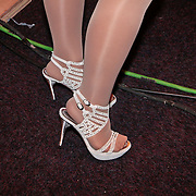 NLD/Hilversum/20110130 - Nationaal Songfestival 2011, schoenen van Hind Laroussi Tahari