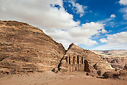 The Monastery (Al Deir) in Petra, Jordan.