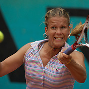 Melinda Czink of Hungary in action during the second round of the French Open Tennis Tournament in Paris, France on Thursday, May 28, 2009. Photo Tim Clayton.