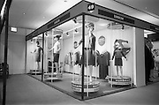 24/04/1964<br /> 04/24/1964<br /> 24 April 1964 <br /> Irish Export Fashion Fair at the Intercontinental Hotel, Dublin. Sunbeam Wolsey Ltd. (Millfield, Co. Cork) display stand at the fair.