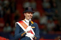 Minderhoud Hans Peter, (NED)<br /> Grand Prix Freestyle<br /> Reem Acra FEI World Cup Dressage - Goteborg 2016<br /> © Hippo Foto - Dirk Caremans<br /> 27/03/16