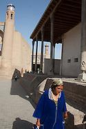 ABDULA KHAN mosque in the old city  KHIVA  Ouzbekistan  .///.mosquee ABDULA KHAN .dans la vielle ville  KHIVA  Ouzbekistan .///.OUZB56316
