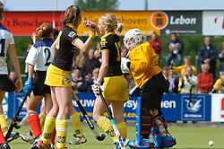 15-05-2005 HOCKEY: DEN BOSCH - HIGHTOWN: EUROPACUP 1: DEN BOSCH<br /> Den Bosch heeft vandaag de finale bereikt van het toernooi om de Europa Cup voor landskampioenen. De Brabantse ploeg deed dat met overmacht: 7-1 tegen het Engelse Hightown / Maartje Goderie<br /> ©2005-WWW.FOTOHOOGENDOORN.NL