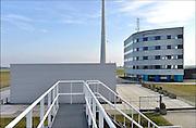 Nederland, Groningen, eemshaven, 15-4-2015Het kantoor, gebouw van het loodswezen.FOTO: FLIP FRANSSEN/ HH