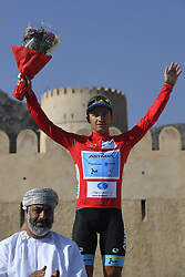 February 17, 2018 - Muscat, Oman - LUTSENKO Alexey  (KAZ)  of Astana Pro Team during stage 5 of the 9th edition of the 2018 Tour of Oman cycling race, a stage of 152 kms between Sama'il and Jabal Al Akhdhar (Green Mountain) on February 17, 2018 in Muscat, Sultanate Of Oman, 17/02/2018 (Credit Image: © Panoramic via ZUMA Press)