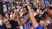 DESCRIZIONE : Campionato 2014/15 Serie A Beko Dinamo Banco di Sardegna Sassari - Grissin Bon Reggio Emilia Finale Playoff Gara6<br /> GIOCATORE : Jerome Dyson Commando Ultra' Dinamo<br /> CATEGORIA : Ritratto Esultanza Ultras Tifosi Spettatori Pubblico Postgame<br /> SQUADRA : Dinamo Banco di Sardegna Sassari<br /> EVENTO : LegaBasket Serie A Beko 2014/2015<br /> GARA : Dinamo Banco di Sardegna Sassari - Grissin Bon Reggio Emilia Finale Playoff Gara6<br /> DATA : 24/06/2015<br /> SPORT : Pallacanestro <br /> AUTORE : Agenzia Ciamillo-Castoria/L.Canu
