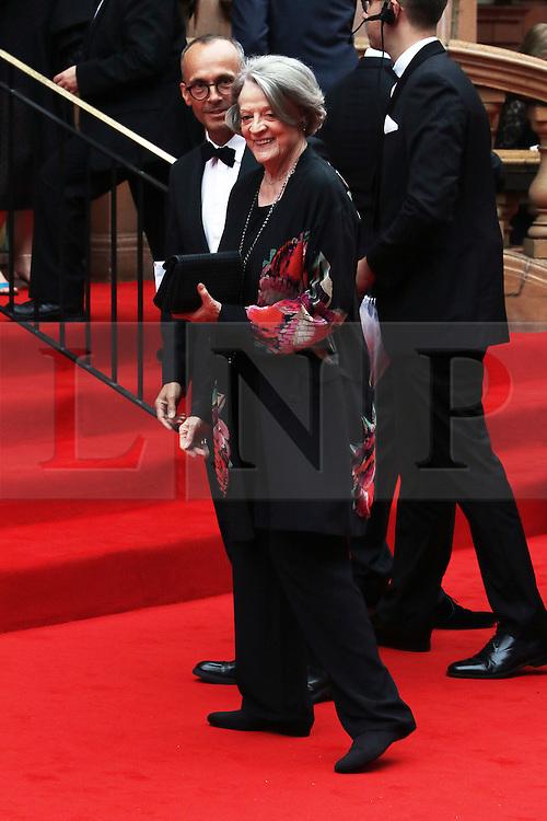 Dame Maggie Smith, BAFTA Celebrates Downton Abbey, Richmond Theatre, London UK, 11 August 2015, Photo by Richard Goldschmidt /LNP © London News Pictures.