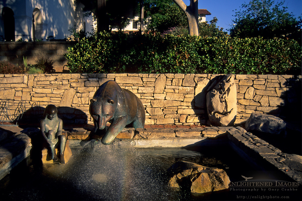 Fountain at Mission Plaza, San Luis Obispo, CALIFORNIA