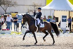 KLIMKE Ingrid (GER), Franziskus 15<br /> Deutsche Meisterschaft der Dressurreiter<br /> Klaus Rheinberger Memorial<br /> Nat. Dressurprüfung Kl. S**** - Grand Prix Special<br /> Balve Optimum - Deutsche Meisterschaft Dressur 2020<br /> 19. September2020<br /> © www.sportfotos-lafrentz.de/Stefan Lafrentz