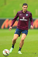 Stewart Downing of England - England Training & Press Conference - UEFA Euro 2016 Qualifying - St George's Park - Burton-upon-Trent - 11/11/2014 Pic Philip Oldham/Sportimage