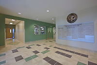 Fort Detrick Maryland Interior Photography of the Armed Forces Reserve Center by building photographer Jeffrey Sauers of Commercial Photographics, Construction by Harkins Builders, Inc.