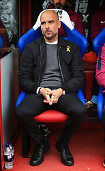 31 December 2017 -  Premier League - Crystal Palace v Manchester City - Pep Guardiola manager of Manchester City - Photo: Marc Atkins/Offside