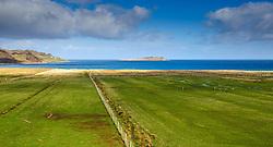 Croft fields near Staffin, Isle of Skye, Scotland<br /> <br /> (c) Andrew Wilson | Edinburgh Elite media