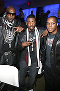 """Treach and Ray J and Vin Rock at """" The P. Diddy presents Bad Boy Entertainment Night """" at Spotlight NYC featuring performances by Cherri Dennis and Vanity Kane on January 29, 2008"""