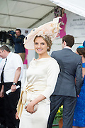 30/07/2015 report free : Winners Announced in Kilkenny Best Dressed Lady, Kilkenny Best Irish Design & Kilkenny Best Hat Competition at Galway Races Ladies Day <br /> <br /> One of the Finalist was Angela Duggan Renmore <br /> Photo:Andrew Downes, xposure
