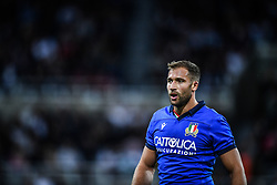 Tommaso Benvenuti of Italy<br /> <br /> Photographer Craig Thomas/Replay Images<br /> <br /> Quilter International - England v Italy - Friday 6th September 2019 - St James' Park - Newcastle<br /> <br /> World Copyright © Replay Images . All rights reserved. info@replayimages.co.uk - http://replayimages.co.uk