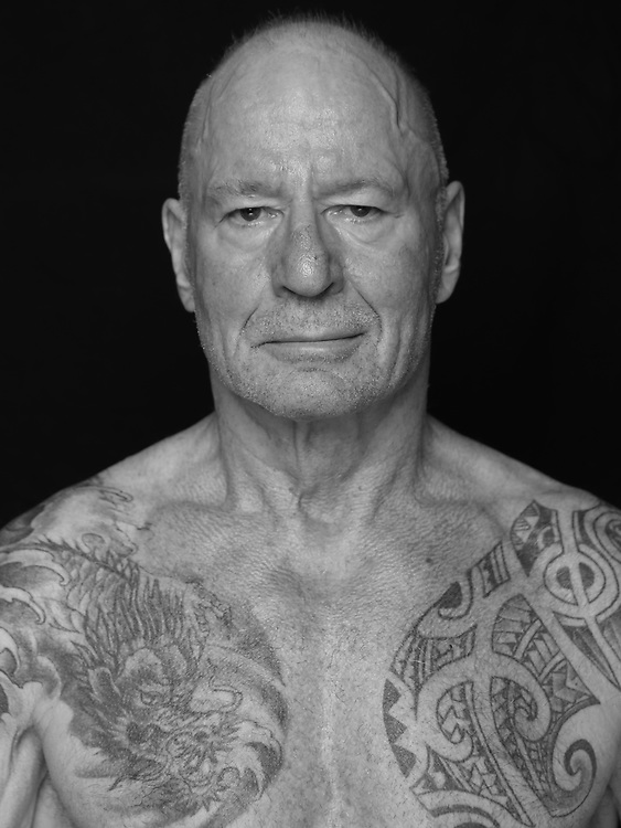 BOXEN: Studio, Portrait of a Boxer, Hamburg, 04.09.2019<br /> Peter Woske<br /> © Torsten Helmke