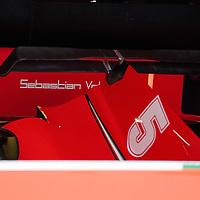 13.03.2020, Albert-Park, Melbourne, FORMULA 1 ROLEX AUSTRALIAN GRAND PRIX 2020<br /> , im Bild<br />Das Rennen in Melbourne ist abgesagt worden, Grund die Ausbreitung des Coronavirus (COVID-19)<br />Die Box von Sebastian Vettel (GER#5), Scuderia Ferrari Mission Winnow ist verhüllt-<br /> <br /> Foto © nordphoto / Bratic