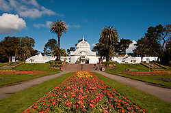 Conservatory, Golden Gate Park, San Francisco, California, USA.  Photo copyright Lee Foster.  Photo # california108485