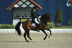 Henry Ludovic, (FRA), After You<br /> Qualification Grand Prix Special<br /> Horses & Dreams meets Denmark - Hagen 2016<br /> © Hippo Foto - Stefan Lafrentz