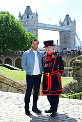 Jake Gyllenhaal attending the Spider-Man: Far From Home Photocall held at the Tower of London.