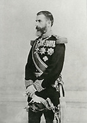 'Carol I (1839-1914) born Prince Karl of Hohenzollern-Sigmaringen, reigning  prince and then King of Romania 1866-1914. Carol I in military uniform.'