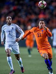 10-10-2016 NED: WK kwalificatie Nederland - Frankrijk, Amsterdam<br /> Nederland verliest met 1-0 van Frankrijk / Memphis Depay #21