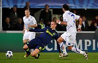 FOOTBALL - CHAMPIONS LEAGUE 2010/2011 - GROUP STAGE - GROUP G - AJ AUXERRE v AJAX AMSTERDAM - 3/11/2010 - PHOTO GUY JEFFROY / DPPI - SIEM DE JONG (AJAX)