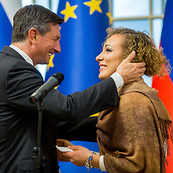 20171212: SLO, Sportnik leta 2017 - RECEPTION AT BORUT PAHOR, PRESIDENT OF SLOVENIA