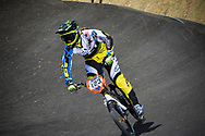 #123 (STANCIL Felicia) USA at the 2013 UCI BMX Supercross World Cup in Chula Vista