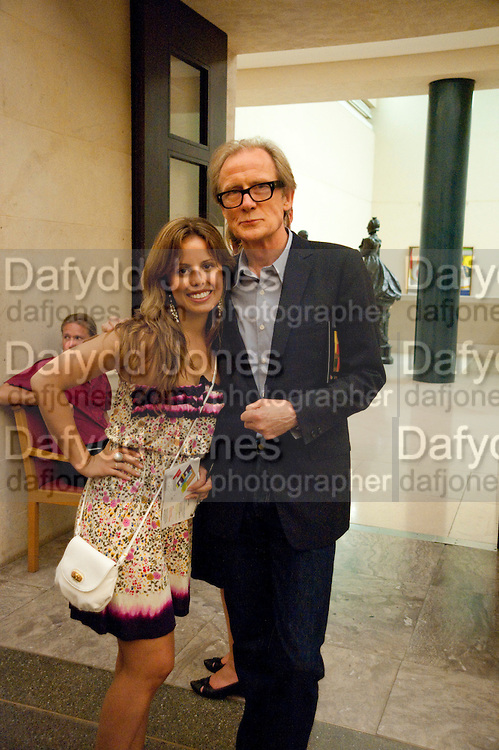VICTORIA ANNE BALL; BILL NIGHY,  Tate Britain Summer Party 2009. Millbank. London. 29 June 2009