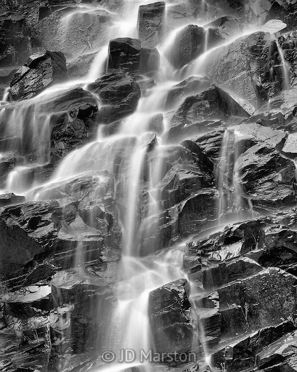 Slate River Cascade tributary, near Crested Butte Colorado