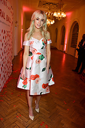 Nicola Hughes at the Floral Ball in aid of Sheba Medical Center hosted by Laura Pradelska and Zoe Hardman and held at One Marylebone, 1 Marylebone Road, London England. 14 March 2017.