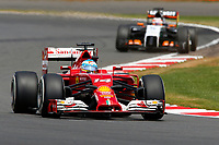 ALONSO Fernando (Spa) Ferrari F14T Action  during the 2014 Formula One World Championship, Grand Prix of Great Britain from july 3 to 6th 2014, in Silverstone, United Kingdom. Photo Florent Gooden / DPPI