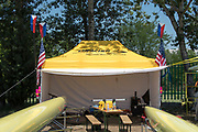 Plovdiv BULGARIA. 2017 FISA. Rowing World U23 Championships. USRowing Tent. [Empacher]<br /> <br /> Wednesday. PM, general Views, Course, Boat Area<br /> 12:18:31  Wednesday  19.07.17   <br /> <br /> [Mandatory Credit. Peter SPURRIER/Intersport Images].
