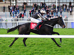 Kalanisi OG and Billy Gleeson win the Galway Golf Club Flat Race during day two of the October Festival at Galway Racecourse.