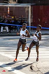 Joyciline Jepkosgei, Kenya, Mary Keitany, Kenya, adidas<br /> TCS New York City Marathon 2019