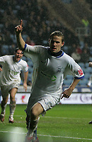Photo: Lee Earle.<br /> Coventry City v Southend United. Coca Cola Championship. 30/12/2006. Southend's Mark Gower celebrates his goal.