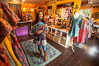 Moxie, a small fair trade botique in Manzanita, Oregon.
