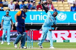 Jofra Archer of England - Mandatory by-line: Robbie Stephenson/JMP - 30/06/2019 - CRICKET - Edgbaston - Birmingham, England - England v India - ICC Cricket World Cup 2019 - Group Stage