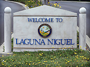 Welcome To Laguna Niguel Monument