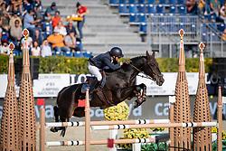 Philippaertsd Nicola, BELVermeir Wilm, BEL, IQ van het Steentje<br /> Longines FEI Jumping Nations Cup™ Final<br /> Barcelona 20128<br /> © Hippo Foto - Dirk Caremans<br /> 06/10/2018