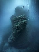 Boiler dive site, Revillagigedo (Socorro), MX<br /> Scuba diving