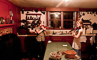 Sanbornton Historical Society annual meeting and potluck dinner followed by Celtic Folk music performed by Fiona Shea and Audrey Budington October 13, 2011.