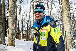 "Miha Verdnik during FIS Alpine Ski World Cup 2017/18 Men's Slalom race named ""Snow Queen Trophy 2018"", on January 4, 2018 in Course Crveni Spust at Sljeme hill, Zagreb, Croatia. Photo by Vid Ponikvar / Sportida"