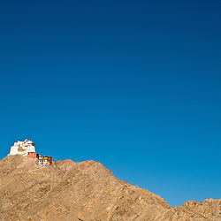 The fort in the capital of Ladakh, Leh, that overlooks the valley below.