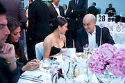 Kim Kardashian; Nicholas Coleridge, Glamour Women of the Year Awards 2011. Berkeley Sq. London. 9 June 2011.<br /> <br />  , -DO NOT ARCHIVE-© Copyright Photograph by Dafydd Jones. 248 Clapham Rd. London SW9 0PZ. Tel 0207 820 0771. www.dafjones.com.