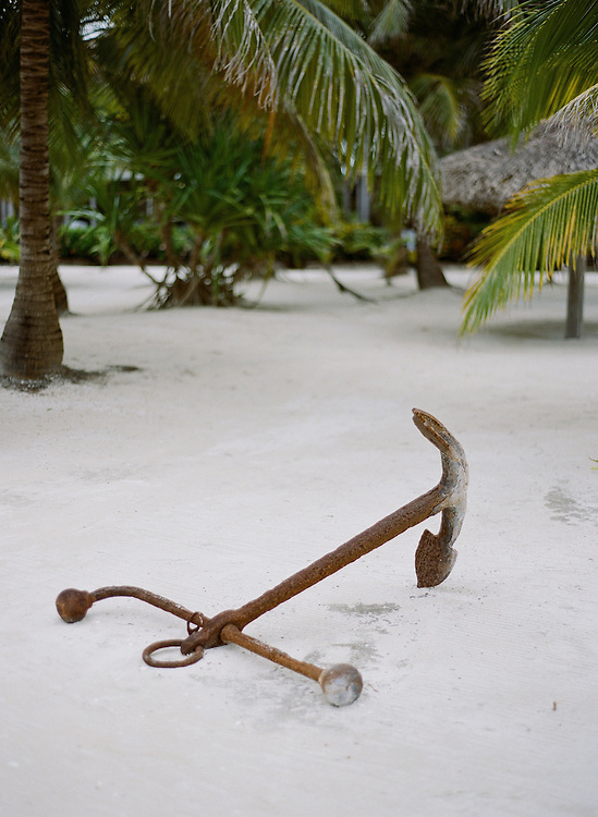 el pescador, eco lodge, belize, central america, anchor